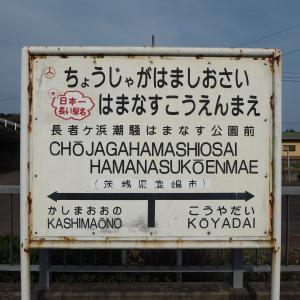 各駅探訪No.455 長者ヶ浜潮騒はまなす公園前駅(鹿島臨海鉄道大洗鹿島線)