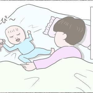 寝かしつけからの寝落ち こうなりがち