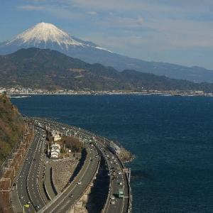 【旅人サイファの絶景100選】薩埵峠!交通の大動脈と富士山の大展望!