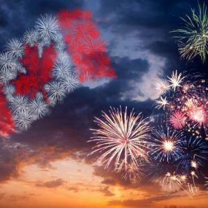 Happy Canada day  7月1日はカナダの建国記念日