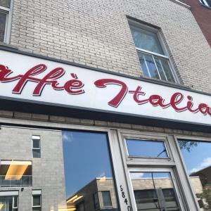モントリオールで見つけたイタリア語が飛び交うイタリアの老舗の喫茶店