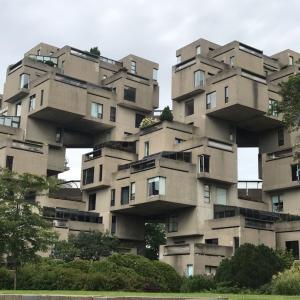 アビタ67はモントリオール万博に建てられた歴史的建造物