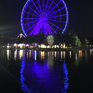 モントリオールの観覧車からの夜景が最高❣️