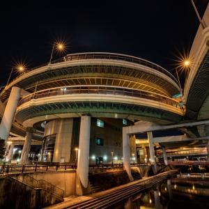 夜散歩@向野橋&黒川IC