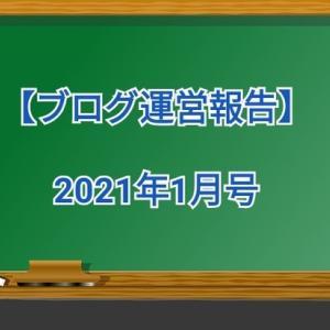 【ブログ運営1月号】今年に最初の運営報告|結果はいかに!?