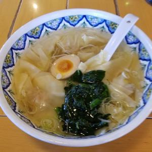 【麺がダメならワンタンならどうだ!!!】揚州商人「塩ワンタンと夢ごこち杏仁豆腐」でリベンジだ!