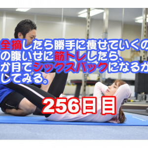 【チャレンジ256日目】肋軟骨の怪我はほぼ完治。怪我をしていた期間にトレーニングで学んだこと。【胃全摘した私がシックスパックを目指すお話】