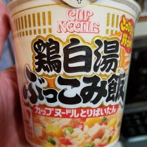 【こってり濃厚⁉食べやすい!】日清『カップヌードル 鶏白湯 ぶっこみ飯』を実食した感想【胃を切った人に超オススメ!】