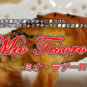 【埼玉日記17】さいたま市南浦和『ミオ・テゾーロ』のアップルパイとスフォリアテッラ