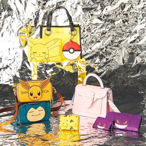 ポケモンのおしゃれなファッション雑貨が登場! 人気のビニール素材バッグもあるぞ~!