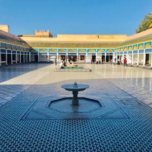 イスラム建築の美しいバヒア宮殿!