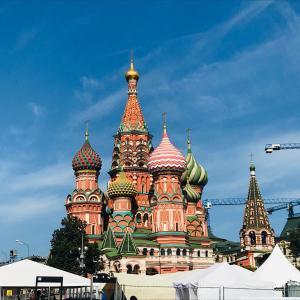 ロシアの中心・赤の広場とクレムリン周辺の散策!