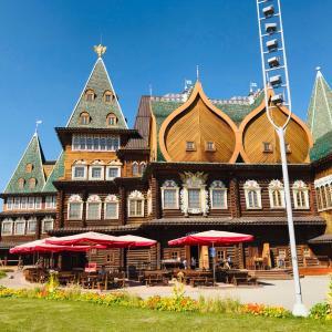 野外博物館コローメンスコエでみるロシアの伝統建築群!