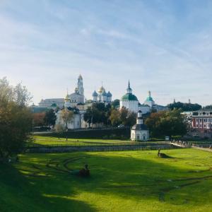 宗教を感じるロシア正教の聖地セルギエフ・ポサード!