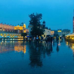 ポーランドの古都クラクフへ!旧市街を歩く