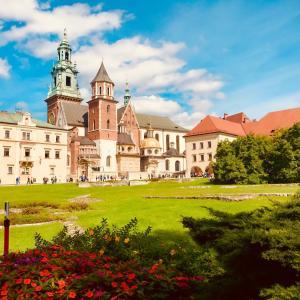 ポーランド随一の古城ヴァヴェル城!クラクフ旧市街