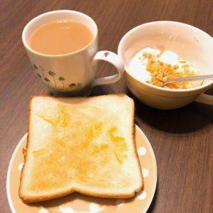 朝食はちゃんと食べてる?うちは手抜きの朝食