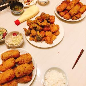 5月4日から5月10日までの夕食のメニュー 先週はほとんど夫が準備