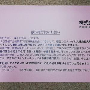 【忘れず行使】アサンテの議決権行使でクオカード500円がいただける