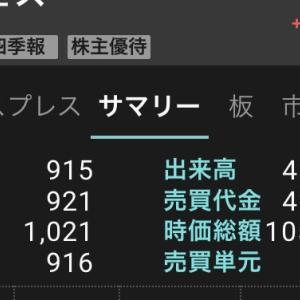 4563アンジェスが一時1000円越え!タカラバイオと合わせて注目継続