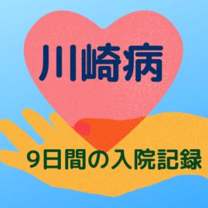 4歳4ヵ月『川崎病』の入院治療9日間の記録