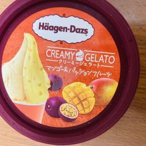 一度で二度おいしい♪ マンゴー&パッションフルーツ クリーミージェラートハーゲンダッツ