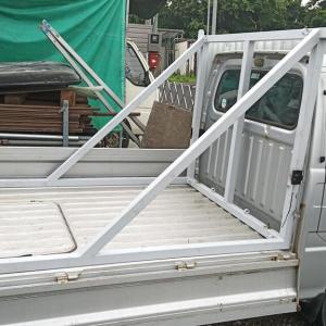ボート吊り具(車側)取り付け 6月14日