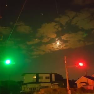 夜の散歩 (^^♪ 10月14日