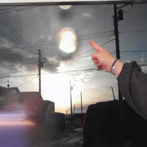 ☆発光するエネルギーが時空から現れる瞬間?空中に浮遊する…(Vol.27)