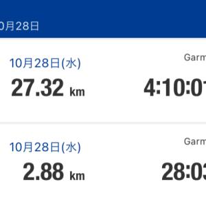 残りはあと3日【大会28日目】いわて盛岡シティマラソン☆20201028