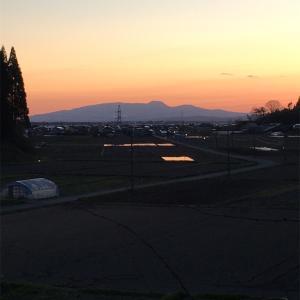 『母からの電話。潟上で見た夕焼け。』本州縦断フットレースSPECIAL 3日目(後編)★20210426