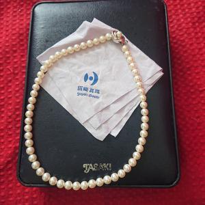 田崎真珠のネックレスもったいないので…