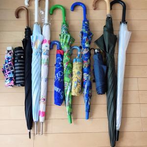 わが家の傘の数と収納、お悩みビニール傘問題について