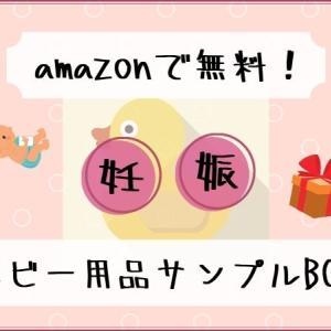 【妊婦無料】amazonのベビー用品のサンプルBox!中身とやり方