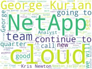 NetApp 2020年度第四四半期決算発表全文