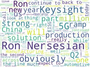 Keysight 2020年度第二四半期決算発表全文