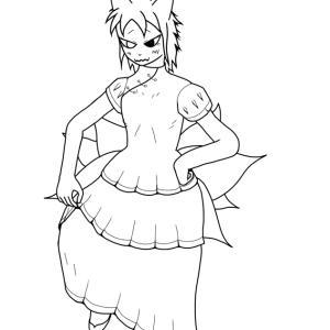 イラスト;克天狐(双月千年世界、8回目) / オレにこんなの着せて楽しいのかよ……
