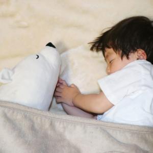 寝るのを嫌がる2歳児の寝かしつけ
