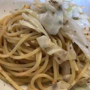 キャベツとアンチョビのスパゲティ