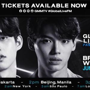 BrightWinのGlobal Live Fan meeting