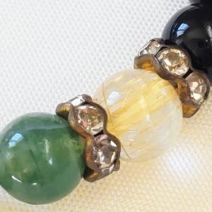 ロンデルは天然石ブレスレット作成に使わないほうがいい?錆びるだけでなく石の効果も半減するわけ
