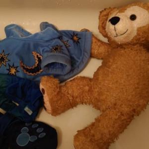 ダッフィーを洗濯してみました/パート2
