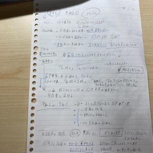 第3回 勉強会アジェンダ追加事項 令和元年度2次試験問題 1枚のメモから
