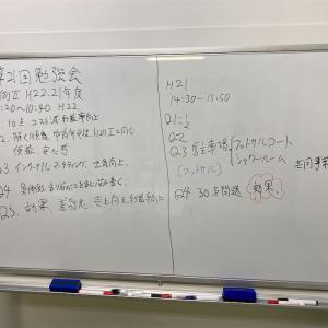 第21回 勉強会 事例Ⅱ 古い過去問で地固め~負けない戦い方を習得する