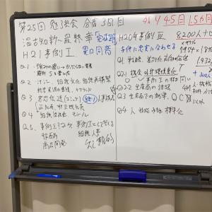 第25回 勉強会合宿3日目~温故知新 最終章 異口同音 事例Ⅰ・Ⅲ