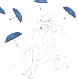 梅雨の晴れ間の英語時間