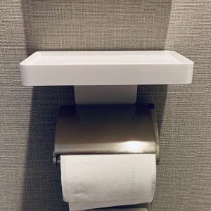 便利〜。トイレに携帯置き場を設置!他にもトイレ便利グッズを紹介