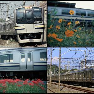 踏み切り注意! 横須賀線 E217系