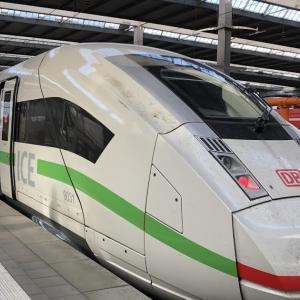 ドイツの新幹線、ICEに乗る!