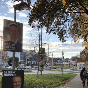 ウケ狙い?ドイツの選挙ポスターの驚きの貼り方〜ドイツの市長選・街の選挙ポスター編〜